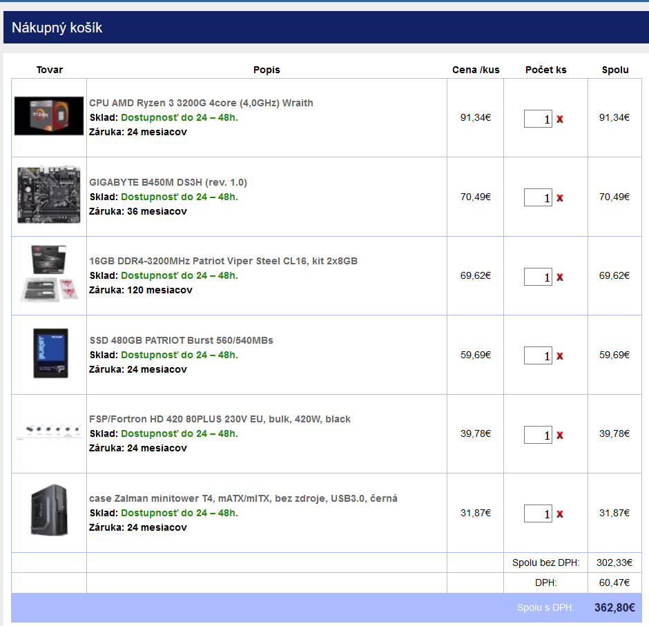 Desktop do 350 eur s windows